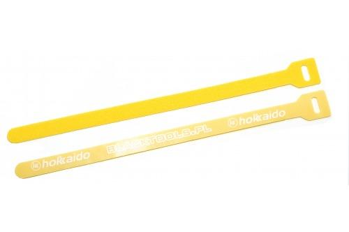 Rzepy do spinania wędek żółte