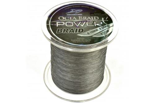 Plecionka Octa Braid Power X4 Black 0,12mm 600m