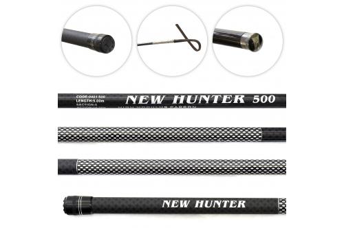 WĘDKA BAT NEW HUNTER CARBON 4M 10-50G