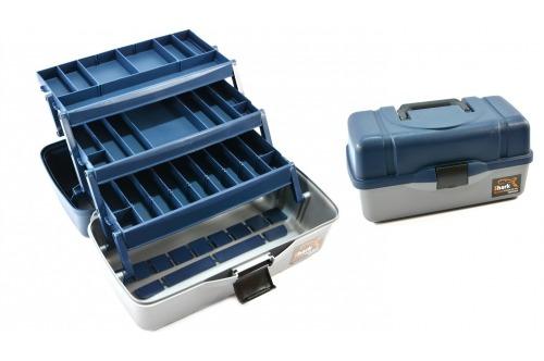 Skrzynka niebieska 3 szuflady